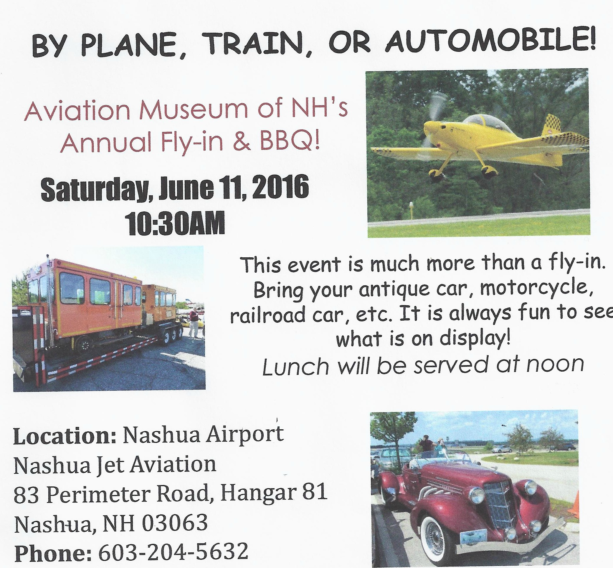 Nashua Fly In 2016edited
